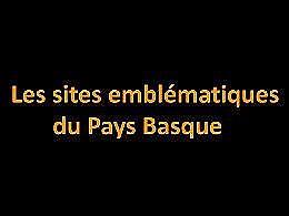 diaporama pps Sites emblématiques du Pays Basque