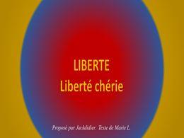diaporama pps Liberté liberté chérie