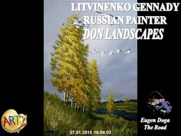 diaporama pps Litvinenko Gennady Ivanov – Russian painter