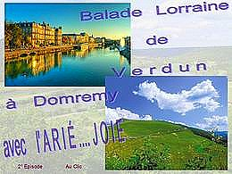 diaporama pps Balade en Lorraine 2