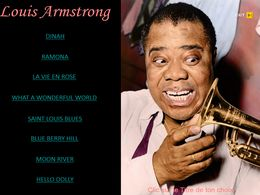 diaporama pps Louis Armstrong I