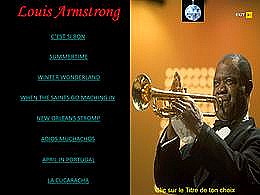 diaporama pps Louis Armstrong II