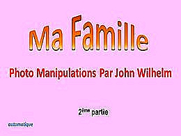 diaporama pps Ma famille 2