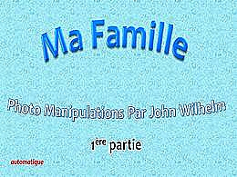 diaporama pps Ma famille