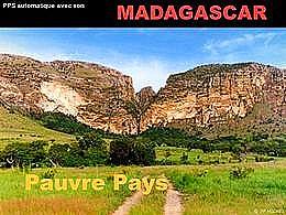 diaporama pps Madagascar – Contrastes
