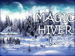diaporama pps Magic hiver