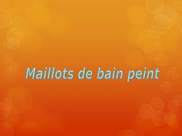 diaporama pps Maillots de bain peint