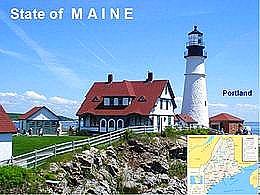 diaporama pps Maine – USA