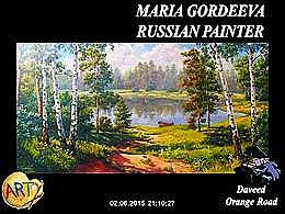 diaporama pps Maria Gordeeva Anatolevna Russian Painter