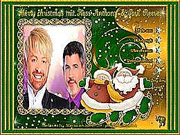 diaporama pps Merry Christmas mit Ross Anthony & Paul Reeves
