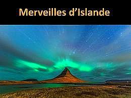 diaporama pps Merveilles d'Islande