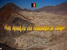 diaporama pps Mes Aynak cité bouddhiste en danger