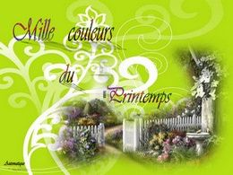 diaporama pps Mille couleurs du printemps