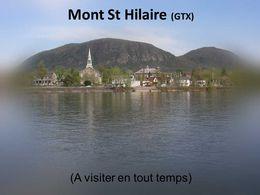 diaporama pps Mont Saint-Hilaire