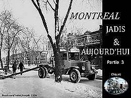diaporama pps Montréal jadis et aujourd'hui partie 3