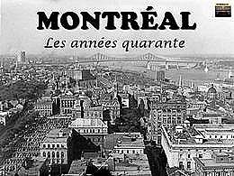 diaporama pps Montréal – Les années 40