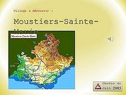 diaporama pps Moustiers Sainte Marie