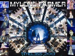 diaporama pps Mylène Farmer concert timeless 2013