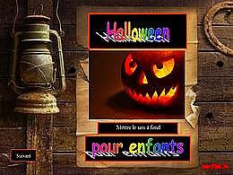 diaporama pps Halloween pour enfants