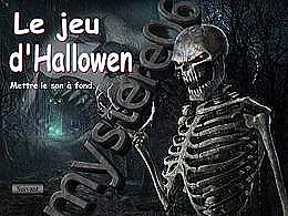 diaporama pps Jeu d'Halloween