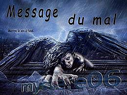 diaporama pps Message du mal