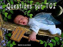 diaporama pps Questions sur Toi