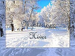 diaporama pps Mystérieux hiver
