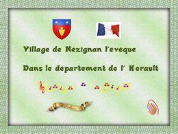 diaporama pps Nézignan-l'Évêque dans l'Hérault