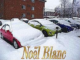 diaporama pps Noël blanc panoramique