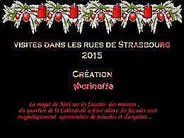 diaporama pps Noël dans les rues de Strasbourg