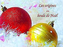 diaporama pps Origine des boules de Noël