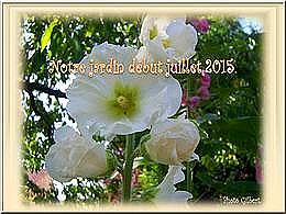 diaporama pps Notre jardin début juillet