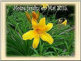 diaporama pps Notre jardin en mai 2015