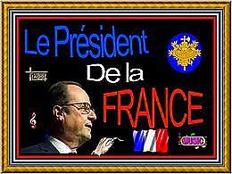 diaporama pps Le président de la France