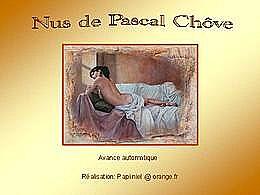 diaporama pps Nus de Pascal Chove