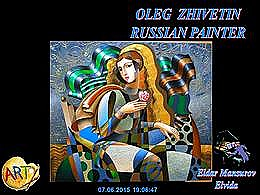 diaporama pps Oleg Zhivetin russian painter