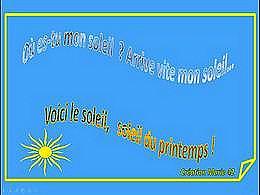 diaporama pps Ou es tu mon soleil