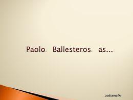 diaporama pps Paolo Ballesteros