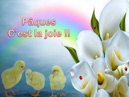 diaporama pps Pâques c'est la joie