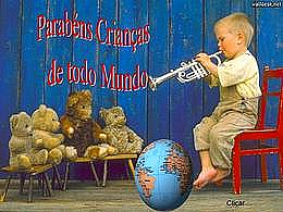 diaporama pps Parabéns Criança de todo mundo