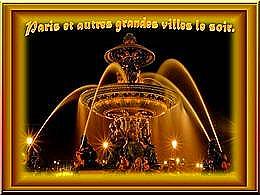 diaporama pps Paris et autres grandes villes le soir