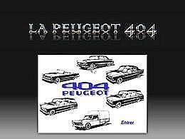 diaporama pps Peugeot 404