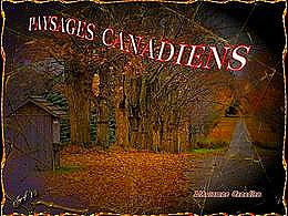 diaporama pps Paysages canadiens