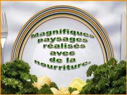 diaporama pps Paysages culinaires