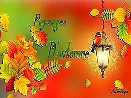diaporama pps Paysages d'automne