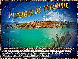 diaporama pps Paysages de Colombie