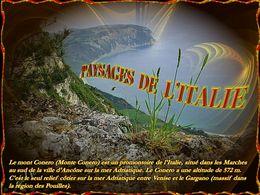 diaporama pps Paysages de l'Italie