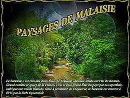 diaporama pps Paysages de Malaisie