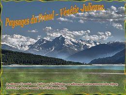 diaporama pps Paysages du Frioul-Vénétie julienne