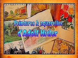 diaporama pps Peintures d'hitler